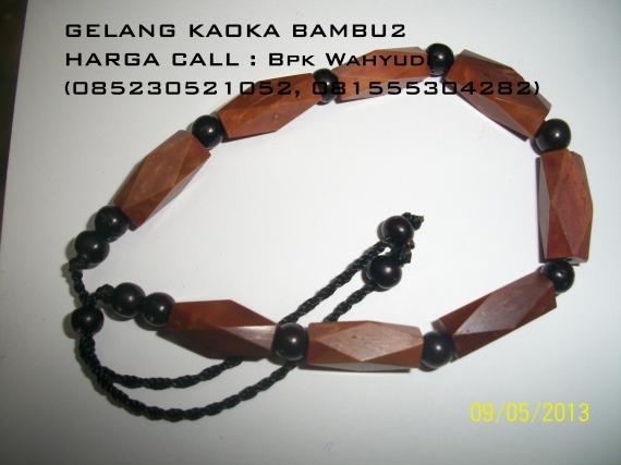 Gelang Kaoka bambu2
